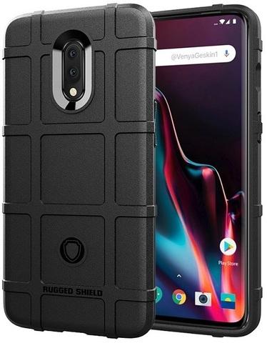 Чехол OnePlus 7 цвет Black (черный), серия Armor, Caseport