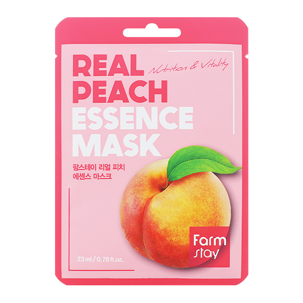 FarmStay Real Peach Essence Mask
