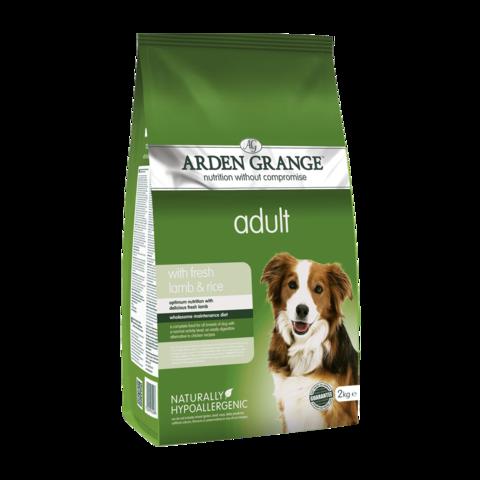 Arden Grange Adult Сухой корм для взрослых собак Ягненок и Рис