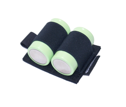 Холдер для аккумуляторов на 2 аккумулятора D на контактной ленте (велкро)