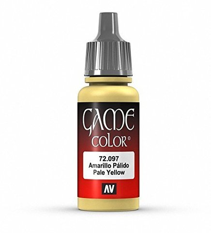 Game Color Pale Yellow 17 ml.