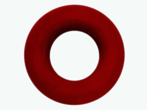 Эспандер кистевой кольцо, резина, нагрузка 40кг. :(Т400):