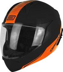 Шлем Модуляр Origine Riviera Line черный/оранжевый матовый XL (60-61)
