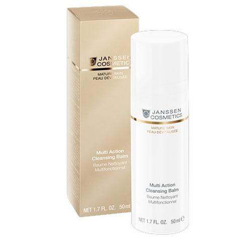 Janssen Mature Skin: Мультифункциональный бальзам для очищения кожи лица (Multi Action Cleansing Balm)
