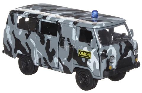 UAZ-39625 SWAT 1:60 Technopark