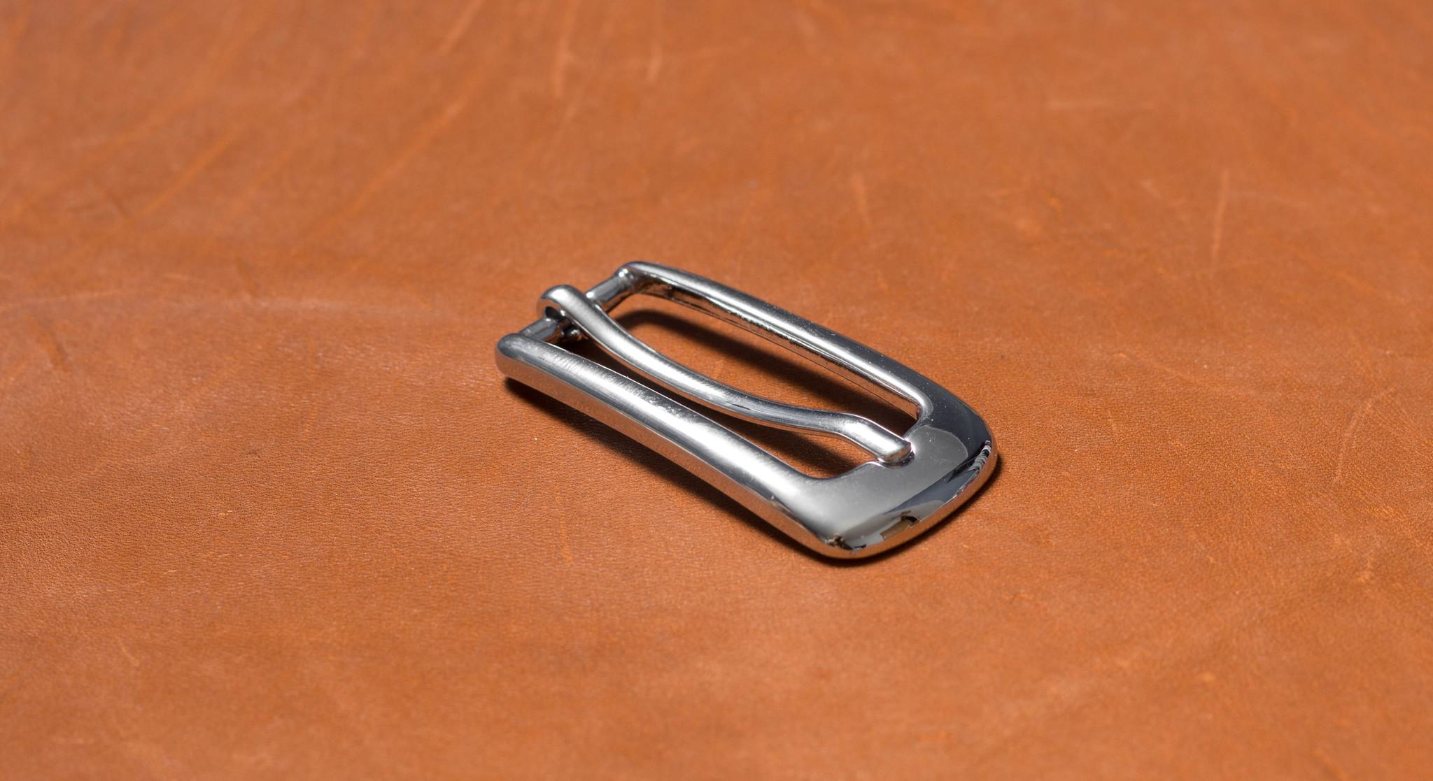 Пряжка 15 мм - хром
