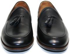 Туфли мужские кожаные Ikoc BlacK-1