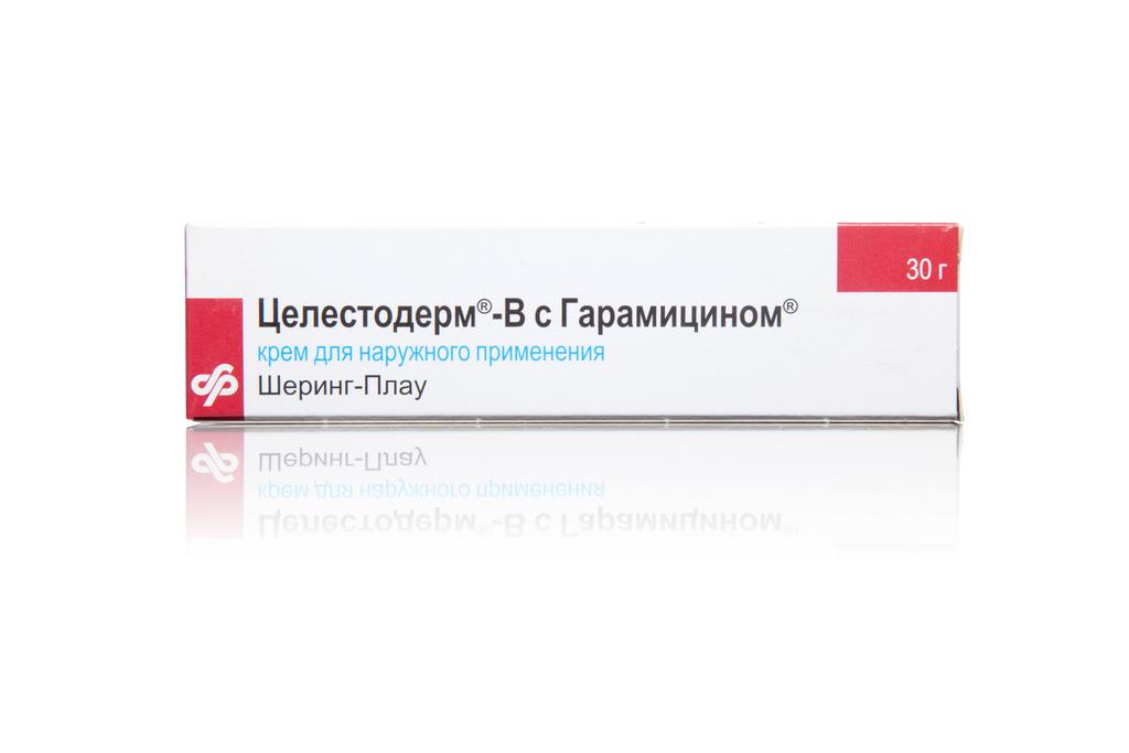 Целестодерм-B с Гарамицином крем 30 г.