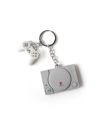 Брелок Difuzed: Playstation Console & Controller 3D Rubber Keychain KE880218SNY