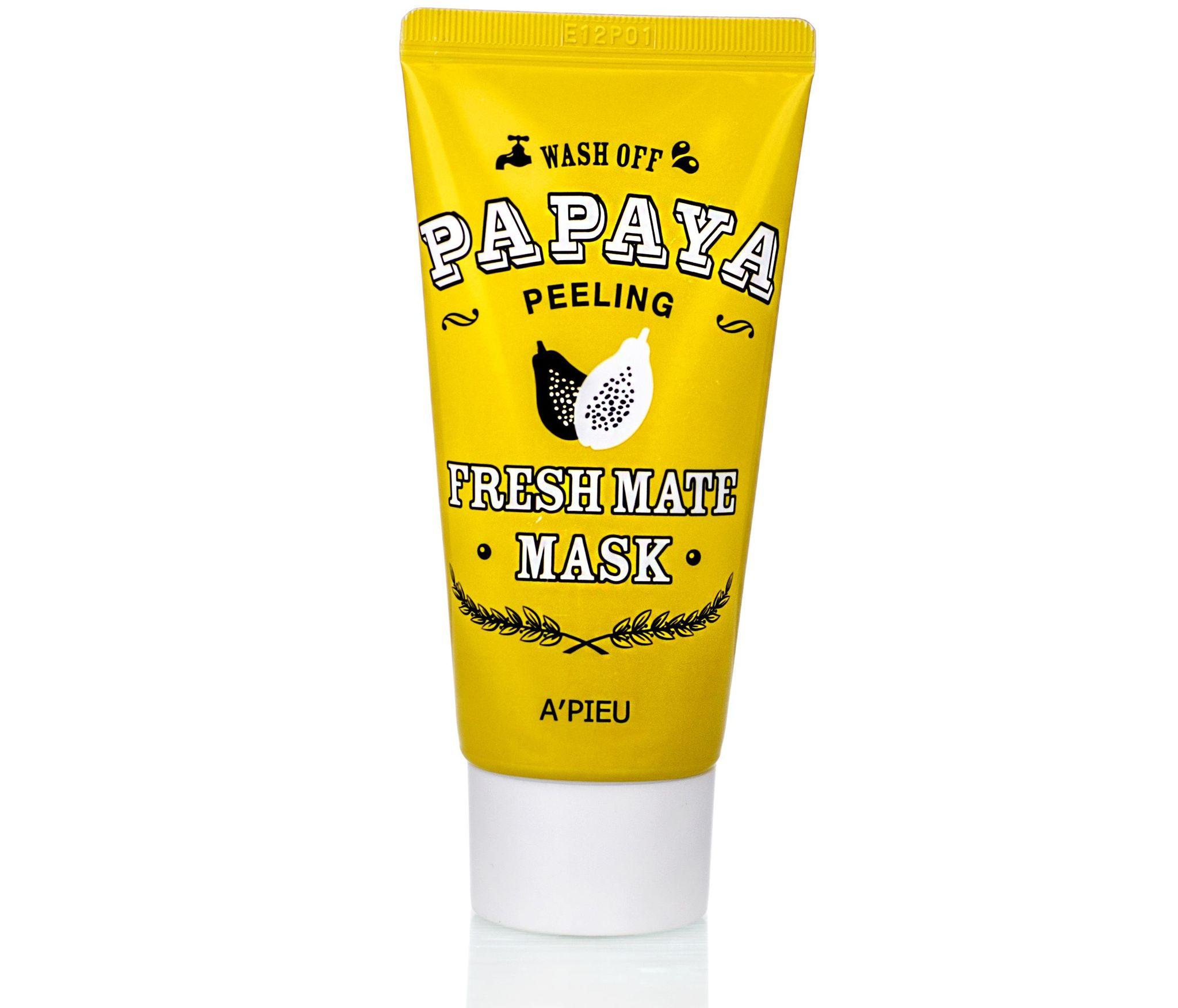 Очищающие Маска для лица A'PIEU очищающая для лица с папайей Fresh Mate Papaya Mask (Peeling) 50 мл 600000139754b0.jpeg