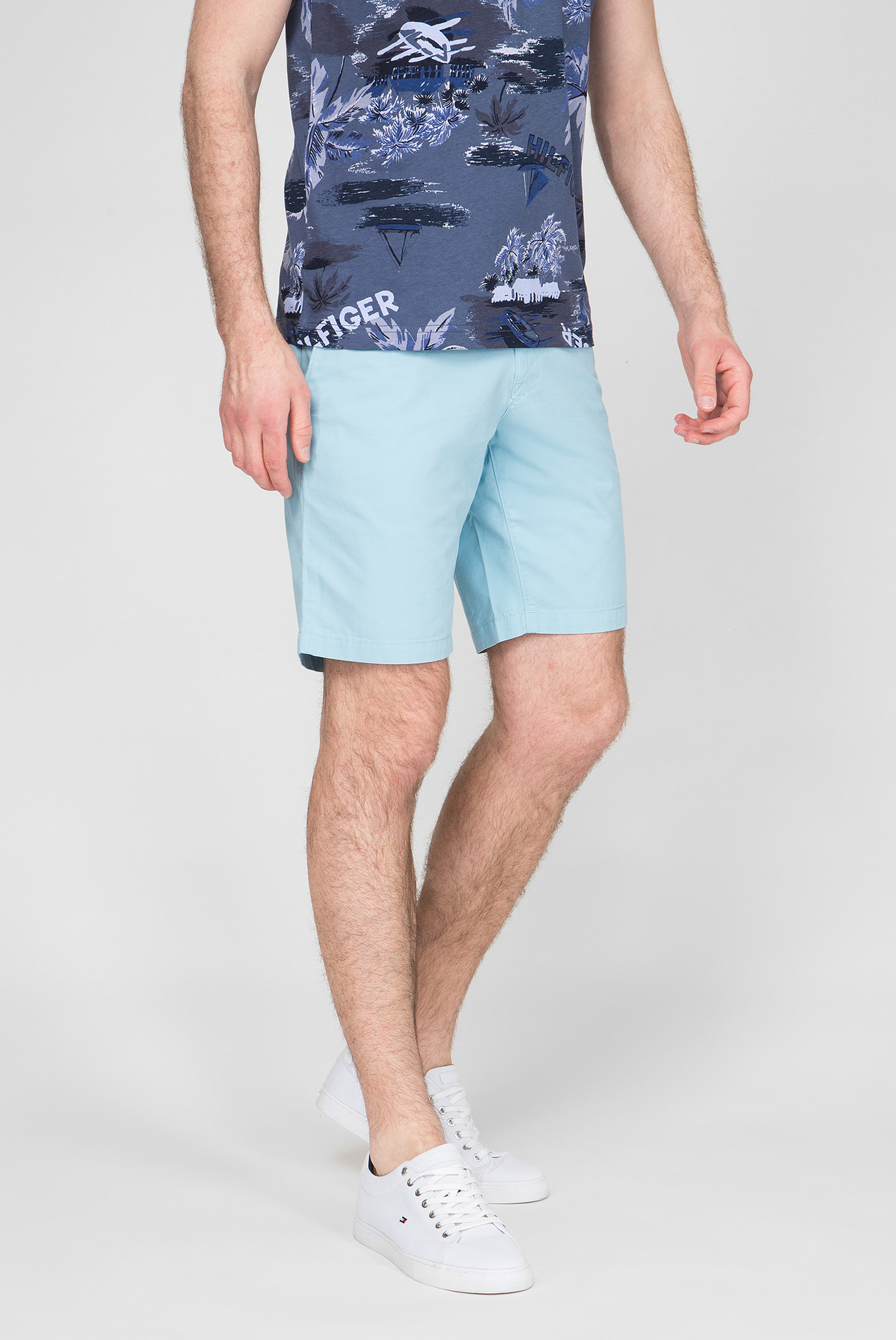 Мужские голубые шорты Brooklyn Tommy Hilfiger