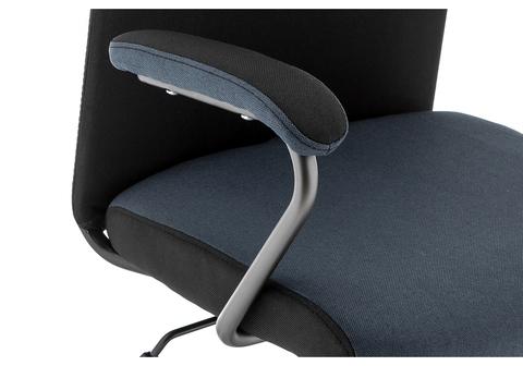 Офисное кресло для персонала и руководителя Компьютерное Aven синее / черное 59*59*118 Серый /Синий /Темно-серый