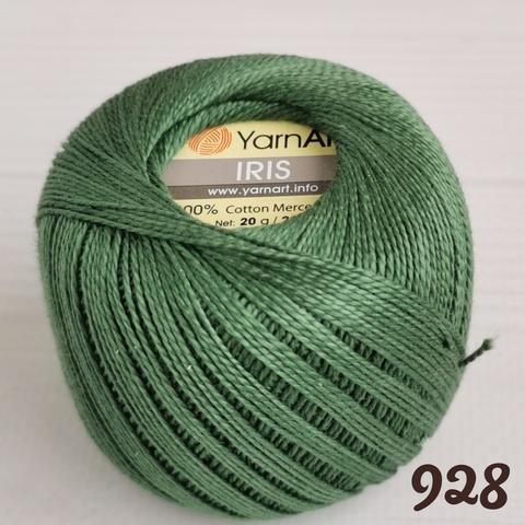 YARNART IRIS 928, Хаки