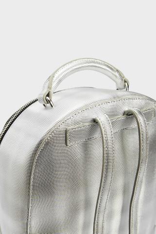 Женский серебристый рюкзак Tommy Hilfiger