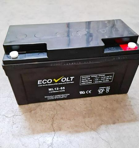 Аккумулятор ECOVOLT ML 12-65