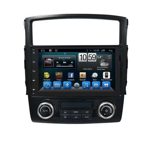 Штатная магнитола Mitsubishi Pajero (07-15) Android 10 4/64Gb IPS DSP 4G модель KR-9050-S10