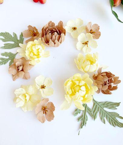 Набор осенних хризантем