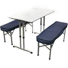 Стол со скамейками Camping World Optimus