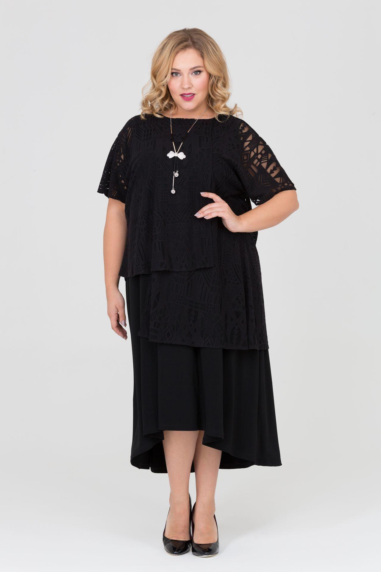 Платья Платье Фиона асимметричного кроя 1742 L img_2492__1_.jpg
