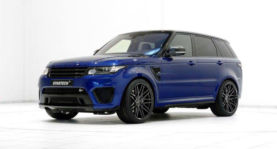 Обвес Startech для Range Rover Sport SVR