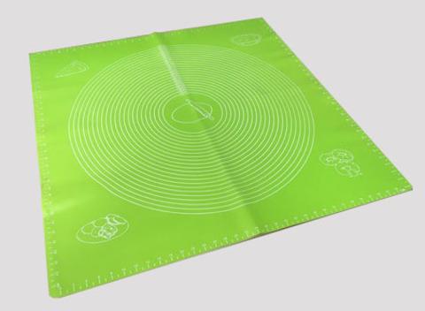Коврик силиконовый с разметкой, 70х70 см (цвет микс)
