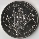 2004 P3148 Великобритания 5 фунтов Антанта