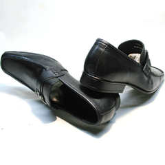 Модные мужские туфли под джинсы Mariner 4901 Black.