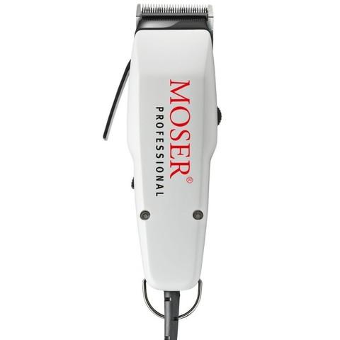 Машинка для стрижки Moser 1400 Edition, сетевая, 1 насадка, 10 Вт, белая