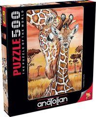 Puzzle Zürafa. Giraffe 500 pcs