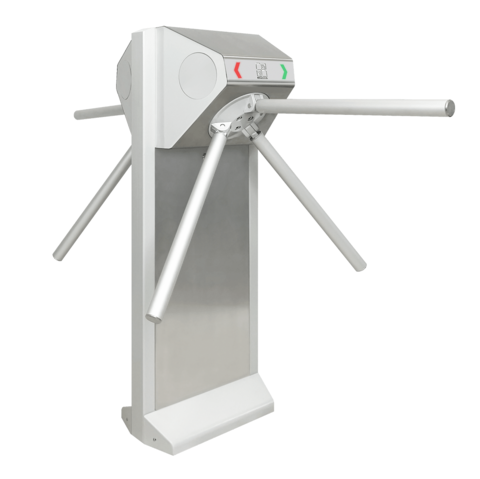 STL-04 Турникет двухпроходной с автоматической антипаникой  CARDDEX
