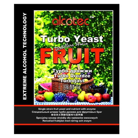 Турбо дрожжи Alcotec Distillers strain Fruit 60 грамм на 25 литров браги