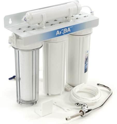 Система водоочистная AquaKit PF-3-1 (проточник, три ступени)