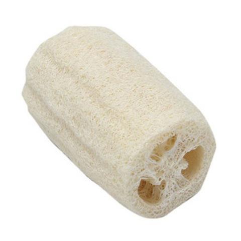 Натуральная мочалка-губка из люффы, 10*6*6