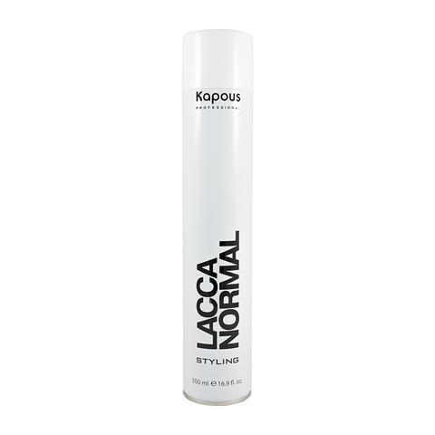 Лак аэрозольный для волос нормальной фиксации Kapous 500 ml.
