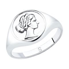 94013075 - Кольцо из серебра