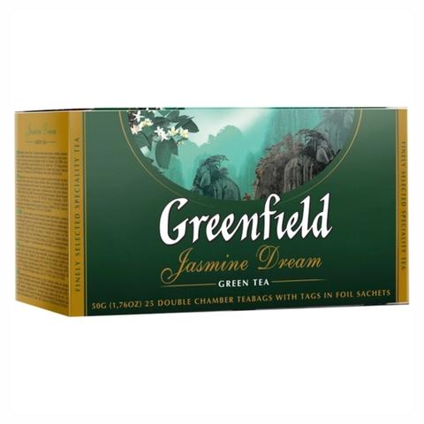 Чай GREENFIELD Зеленый Jasmine Dream 25*2 г п/пак РОССИЯ