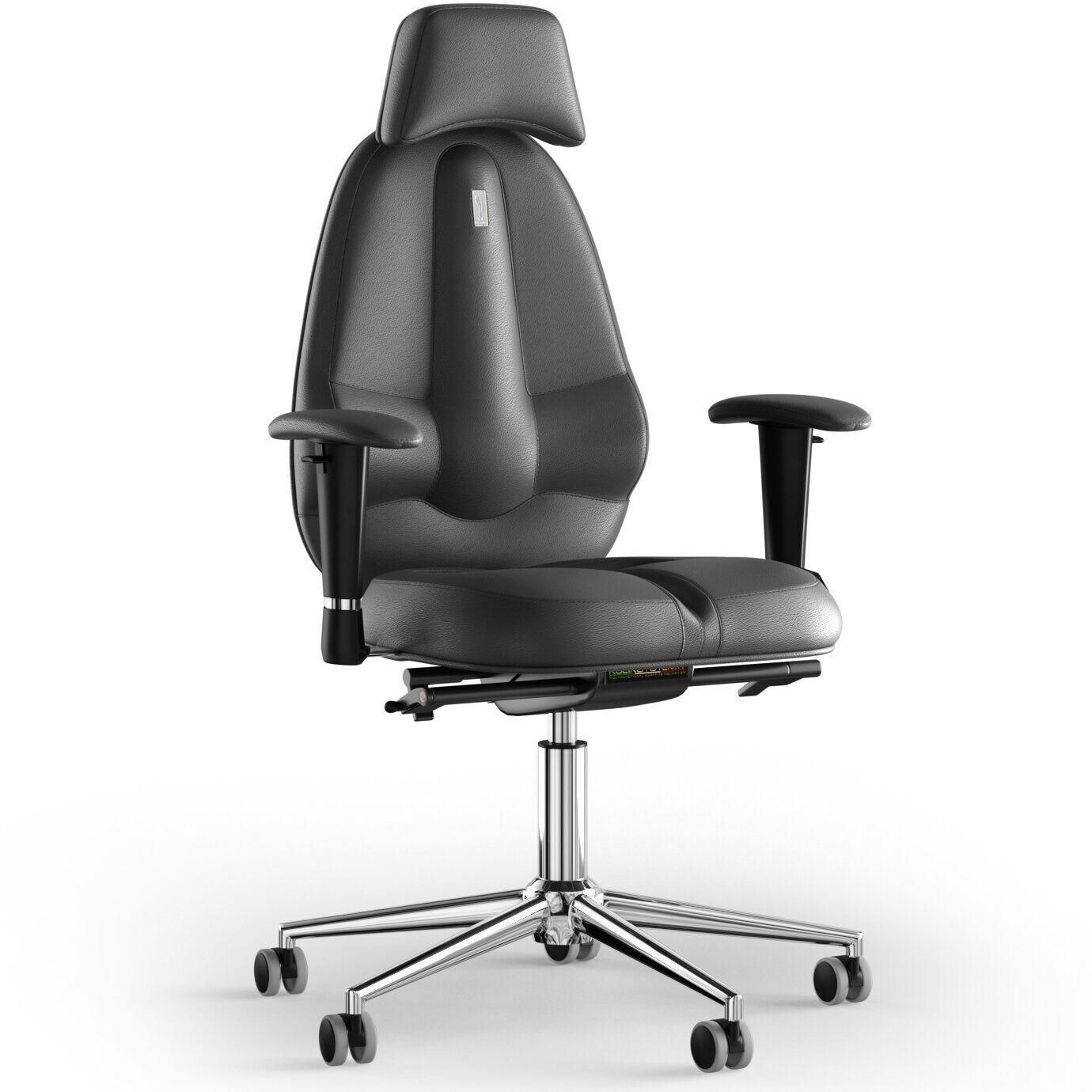 Кресло KULIK SYSTEM CLASSIC Кожа с подголовником