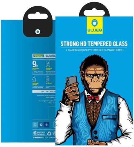 BLUEO / стекло для iPhone 11 /XR закаленное 2.5D HD | 0.33мм прозрачное