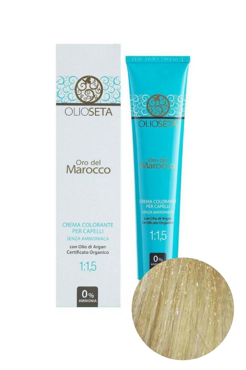 Крем-краска для волос 10.0 Экстра светлый блондин Oro del Marocco, Barex