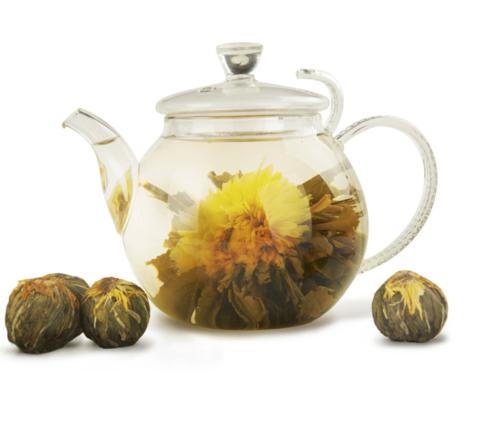 Зелёный связанный чай