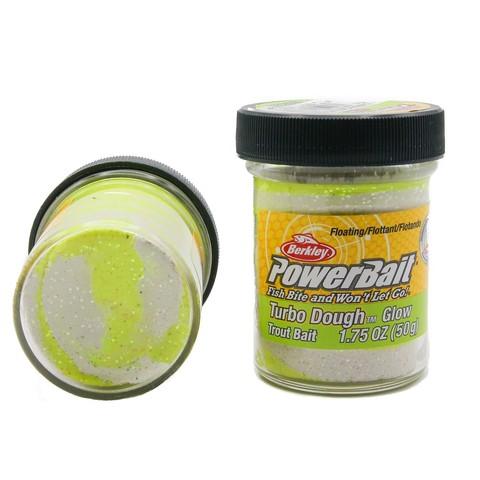Форелевая паста Berkley - ESTBTDG-GSYW (1105178) Turbo Dough Glow цвет жёлтый/белый