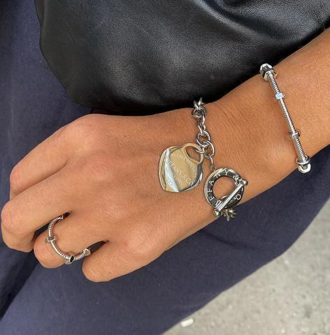Браслет Tiffany Heart серебро