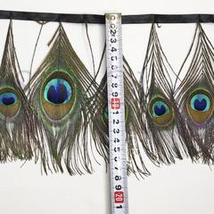 Купить оптом перья Павлина на ленте Peacock Eye глаз павлина