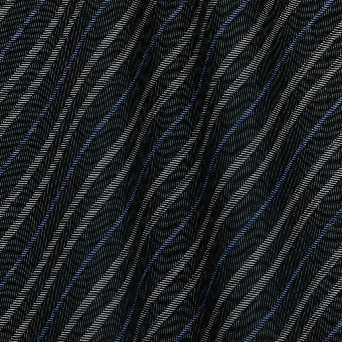 Плательно-костюмное вискозное полотно в голубую полоску