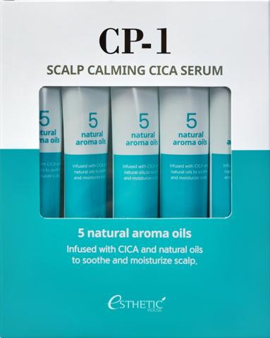 ESTHETIC HOUSE Cыворотка для кожи головы УСПОКАИВАЮЩАЯ CP-1 Scalp Calming Cica Serum, 20 мл