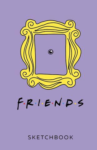 Скетчбук Friends
