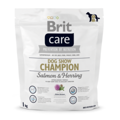 Brit Care Dog Show Champion Сухой корм для выставочных собак Лосось, Сельдь и Рис