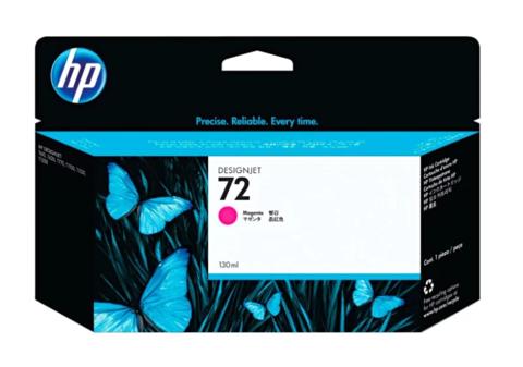 Оригинальный картридж струйный HP C9372A (№72A), пурпурный