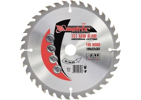 Диск пильный по дереву 250*32мм 60 зуб. MATRIX Professional в интернет-магазине ЯрТехника
