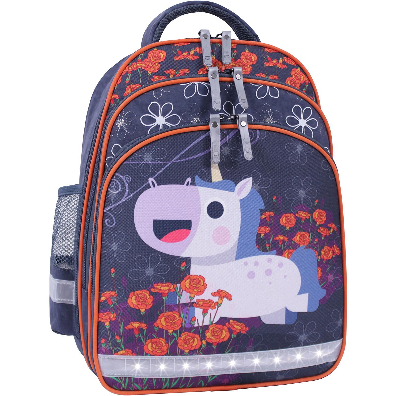 Рюкзак школьный Bagland Mouse 321 серый 499 (0051370) фото 2